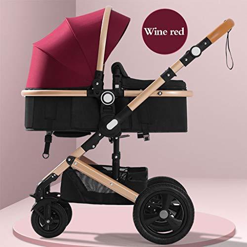 Why Choose STRR Baby Stroller Pram Carriage Stroller - All Terrain Pushchair Stroller Compact Conver...