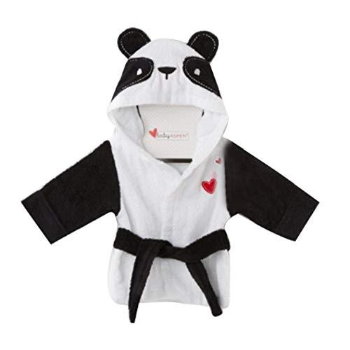 Bambino in Pile Con Cappuccio Accappatoio Unisex I Neonati Robe Panda Pajamas Sleepwear