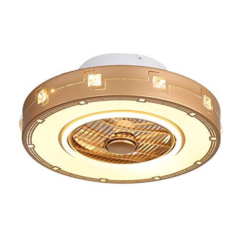 ZMJJ Plafondventilator met licht en afstandsbediening met LED dimming moderne verlichting binnenverlichting luchtcirculatie