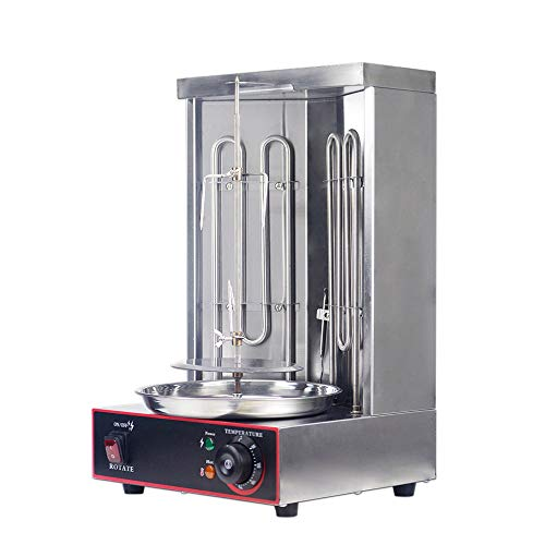 Zz Pro Electric Vertical Broiler Shawarma Doner Kebab Gyro Grill Machine With Temperature Adjustment...
