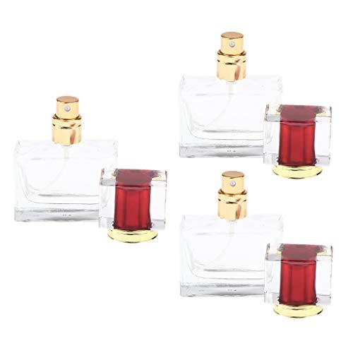 dailymall 3 Lots De Flacons De Pulvérisation De Parfum Porte-échantillon Bouteille