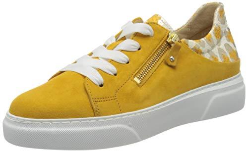 Gabor Damen Jollys 43.312 Sneaker, Gelb (Mango 13), 38.5 EU