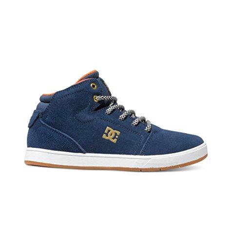 DC Shoes Unisex Baby Crisis High Krabbel- & Hausschuhe, Blau (Navy), 24 EU