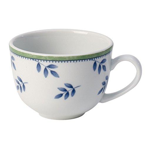Villeroy & Boch Switch 3 Tasse à café ronde, 200 ml, Hauteur: 6,3 cm, Porcelaine, Blanc/Bleu/Vert