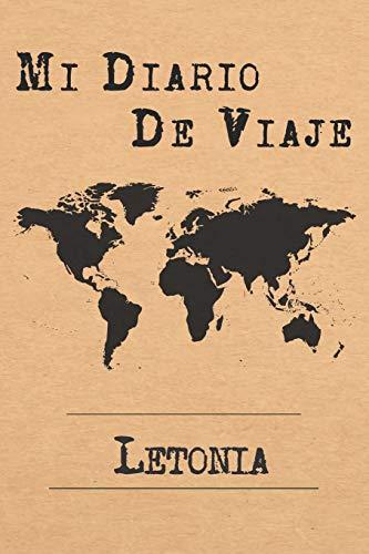 Mi Diario De Viaje Letonia: 6x9 Diario de viaje I Libreta para listas de tareas I Regalo perfecto para tus vacaciones en Letonia