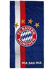 FC Bayern München Toalla de playa con logo azul verano sol