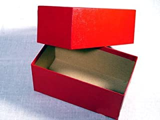 Single Row Red Box for Modern Small Size Currency