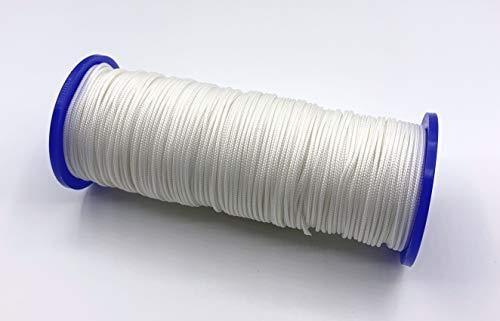 ps FASTFIX 10 Meter Jalousieschnur (weiß) für Jalousien mit 25 mm Lamellen - Zugschnur