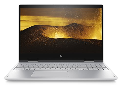 HP ENVY x360 15 Notebook Convertibile, 8 GB di DDR4, 256 GB SSD, Argento