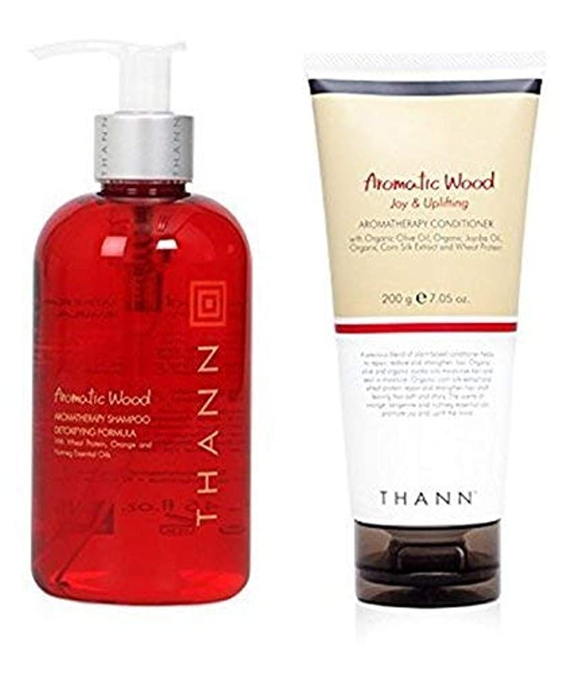 Thann Aromatic Wood Aromatherapy Shampoo & Conditioner Set