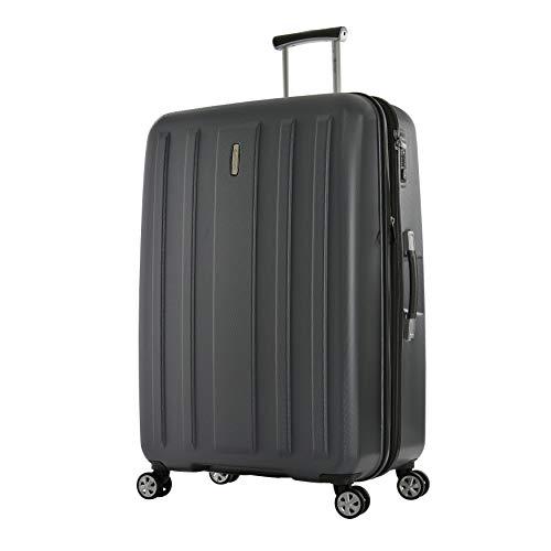 Eminent Koffer Kapstadt V EXP 82 cm 135/150 L Uitbreidbaar Lichtgewicht 4 Dubbele stille wielen Grijs