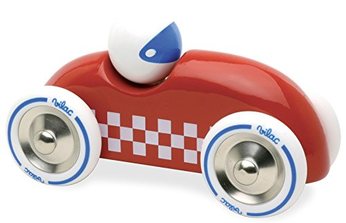 Vilac - 2283R - Voiture Rally Checkers GM Rouge 2283R