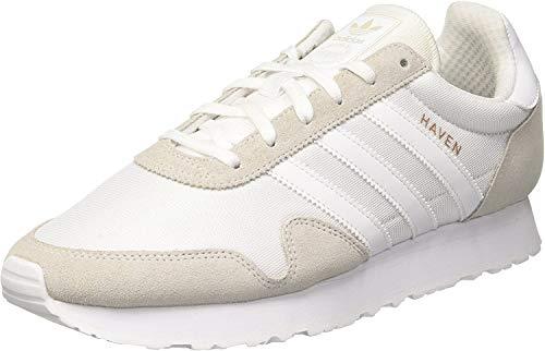 adidas Haven, Zapatillas para Hombre, Blanco (Footwear White/footwear White/vintage White), 38 EU