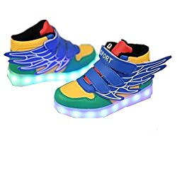 Flashing sneakers to amuse your special kid