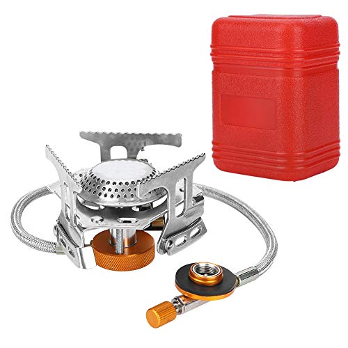 Atyhao 3500W Portable Gas Stove Folding Split Type Natural Gas Burner for Outdoor Camping Hiking Picnic Outdoor Cooking Replacement Parts