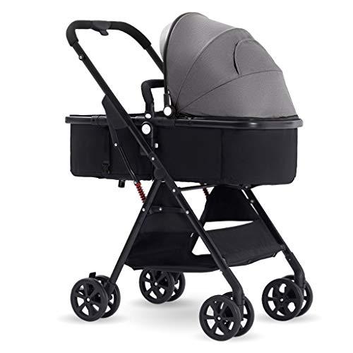 Buy JIAX Portable Baby Stroller - Lightweight Newborn Baby Pushchair, Convertible Reclining Stroller...