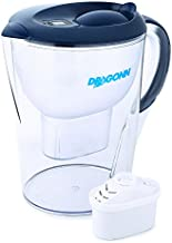 DRAGONN Alkaline Water Pitcher - 3.5 Liters, Free Filter Included, Removes Lead, Chlorine, Copper and more, PH 8.5-9.5 Enhanced 2019 Model (DN-KW-WP01)