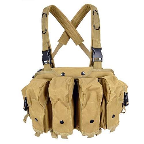 Redland Art CQC AK Chest Rig Molle Tactical Vest Military