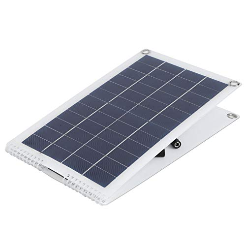 wosume Solarladegerät, Polysilicon 30W Solarpanel-Ladegerät, für geräumige Stationen Autobatterien FlugzeugeSatelliten Flugzeuge Laptops Zucht im Freien