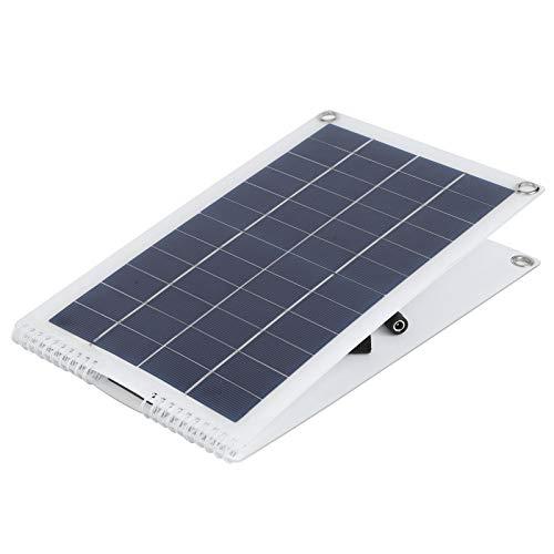 Panel solar, 30W 5V, 1.8A Cargador de panel solar plegable Cargador de teléfono de panel solar de polisilicio portátil para computadoras portátiles Baterías de automóvil Coche RVs Barcos