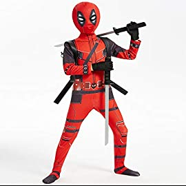 Boys Halloween Costume Superhero Costume Bodysuit for Kids Zentai Jumpsuit Halloween Cosplay Costumes