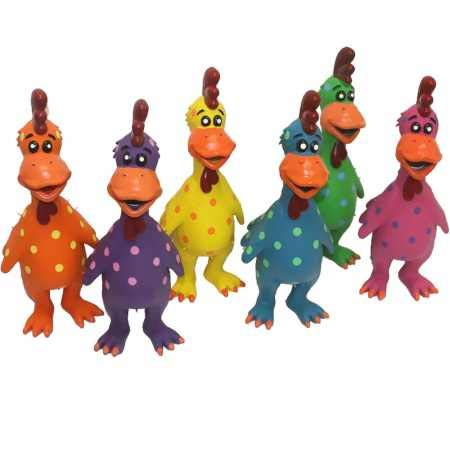 """Multipet Globkens Dog Toy (Assorted Colors) 11.5"""""""