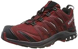 Salomon Herren Trailrunning-Schuhe, XA PRO 3D GTX, Farbe: Rot (Syrah/Ebony/Red Dahlia), Größe: 41 1/3