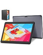 4G LTE Tablet PC 10 Zoll Android 10.0 Tablet LNMBBS, 64GM eMMC,4GB RAM, Quad Core, WiFi/Bluetooth/GPS/OTG (Grau)
