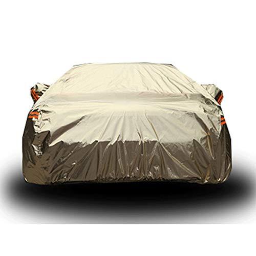 JLZS-Car Covers Couverture de Voiture Convient pour Housse de Protection Solaire imperméable pour écran Solaire de Fox (Trois boîtes) pour Ford Fu Ruisi (Couleur : Or, Taille : Forus)