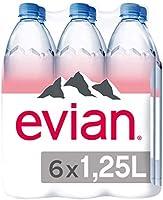 عبوة ترويجية لمياه ايفيان المعدنية الطبيعية بي اي تي بسعة 1.25 لتر( عبوة مكونة من 6 قطع)