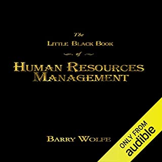 The Little Black Book of Human Resources Management audiobook cover art