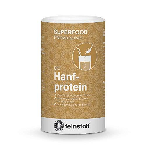 feinstoff Hanfprotein Pulver bio, 180 g