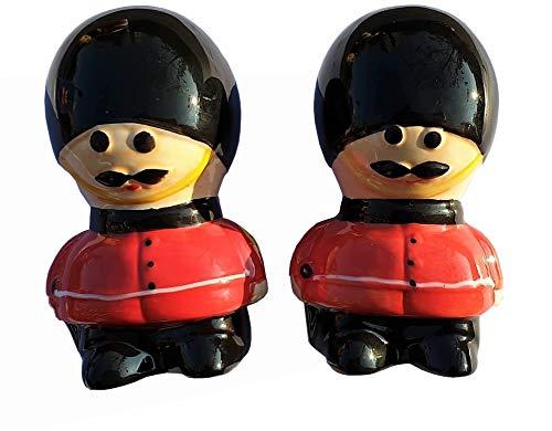 Royal Guard - Juego de salero y pimentero, recuerdo británico de Londres, Inglaterra, Reino Unido, para cocina o hogar