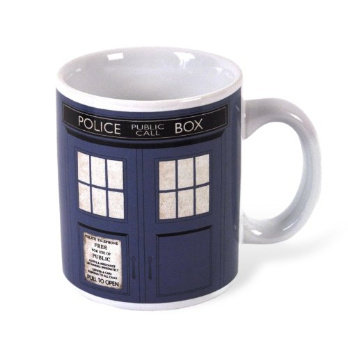 Doctor Who - Tardis Tasse 300 ml TV-Serie Keramik Fan Kaffeebecher Police Box