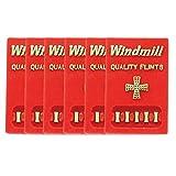 WINDMILL(ウィンドミル) フリント 着火石 ライター 用 6シートセット 純正品