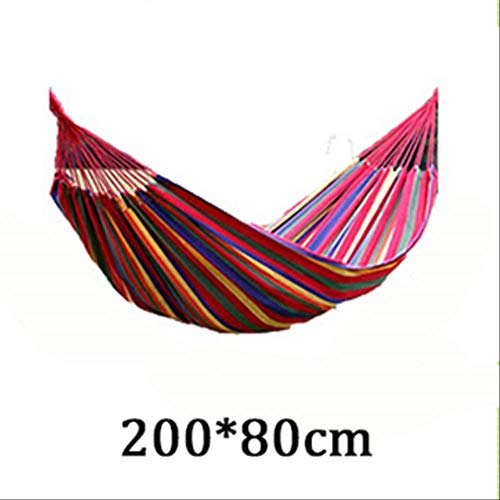 FRWE T Plain Color Canvas Hammock Camping Kids Furniture Outdoor Hanging Rocking Chair Hamock Nordic Swing Adults Hanging Chair D1