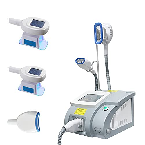 GHDE&MD Body Slimming Machine, Freeze Slimming Machine Cryolipolysis Fat Lipolysis Instrument Frozen Burst Fat Slimming Instrument with 3 Size Handles