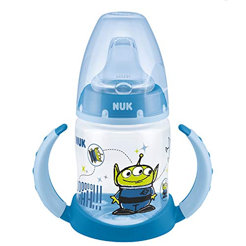 NUK Disney Pixar Toy Story First Choice Learner Bottle Trinklernflasche, 6-18 Monate, 150 ml, Alien