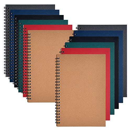 Coopay - Cuaderno de dibujo (A5, tapa blanda, 120 páginas, 60 hojas, 8,3 x 5,5 pulgadas)