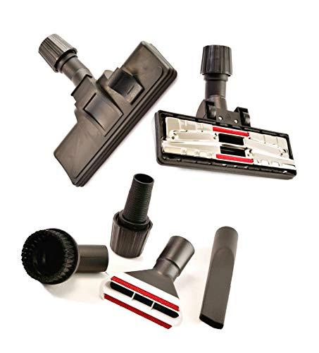 Boquilla para aspiradora, boquilla de conmutación para alfombras y suelos lisos con juego de 4 boquillas adecuado para Hilti VC 5-A22