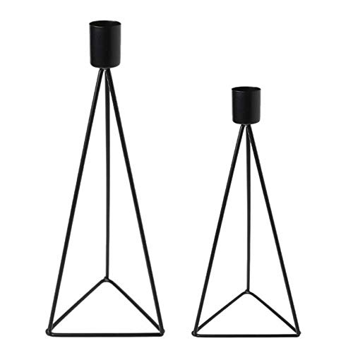 HEAIQUYC -  Kerzenständer Set