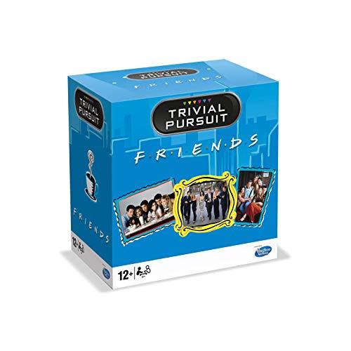 """Trivial Pursuit """"Friends"""" - Juego de mesa, formato de viaje (0294), Idioma Francese"""