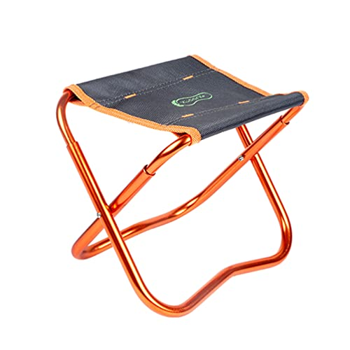 BESPORTBLE Fishing Folding Chair, Portable Camping Chairs Folding Lightweight, Folding Chair Camping Art Painting Chair Sketching Stool Garden Chairs Folding Picnic Chairs Folding (Random Color)