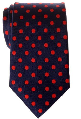 Retreez - Corbata de microfibra para hombre, diseño de lunares (varios colores)