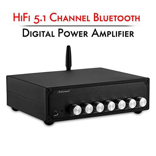 Nobsound - Amplificador de potencia digital (HiFi 5.1, Bluetooth, clase D)