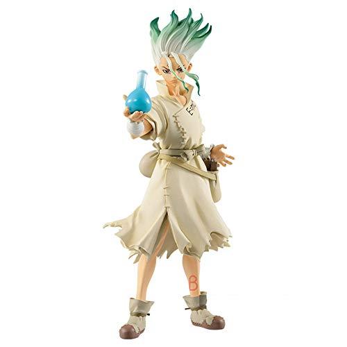 Dr. Stone Senku Ishigami Figure de Stone World Kingdom of Science Senkuu Muñecos y Figuras de Acción Jouets