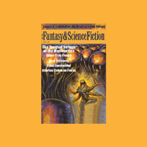 The Best of Fantasy and Science Fiction Magazine, July-August 2003 audiobook cover art
