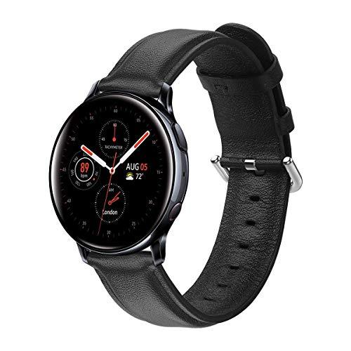 Aottom Cinturino Pelle 20mm Compatibile con Samsung Galaxy Watch Active 2 44mm Cinturino Galaxy Watch 42mm Orologio para Galaxy Watch 3 41mm/Galaxy Watch Active/Garmin VivoActive 3/Huawei Watch GT 2