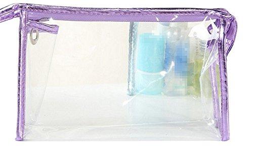 Jancery Trousse de toilette à paillettes pour femme et fille 21 x 14 cm