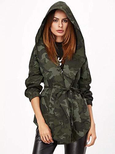Sommer Rock Damen Minirock körperbetont Maxi-Rock Europa und Amerika sexy Hooded Camouflage Jacke-Camouflage_S